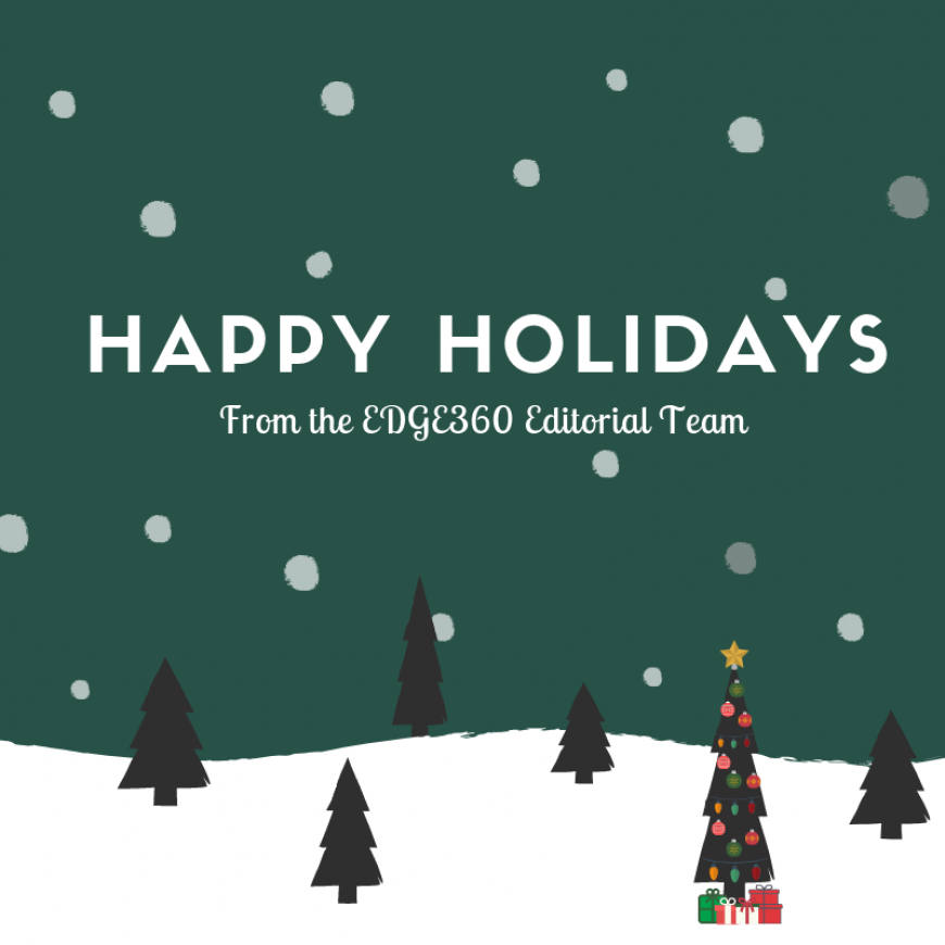 Happy Holidays from the EDGE360 Team
